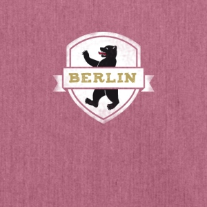 Berlin coat of arms bears capital travel souvenir wall - Shoulder Bag made from recycled material