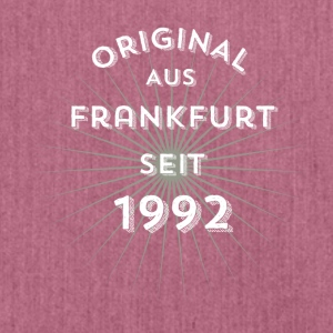 Original from Frankfurt since 1992! - Shoulder Bag made from recycled material