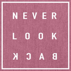 Never Look Back - Schultertasche aus Recycling-Material