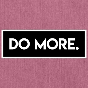 Do More - Schultertasche aus Recycling-Material