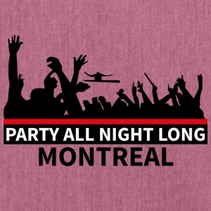 MONTREAL - Party All Night Long - Shoulder Bag made from recycled material