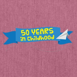 50th Anniversary: ​​50 Years in Childhood - Shoulder Bag made from recycled material