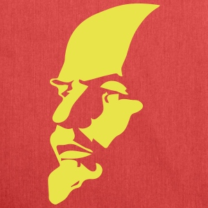 Portrait of Communist Lenin - Shoulder Bag made from recycled material