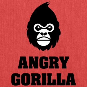 angry_gorilla - Schultertasche aus Recycling-Material