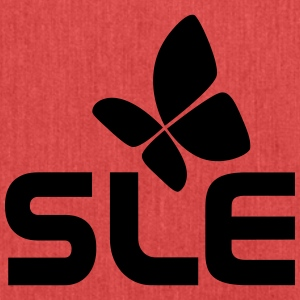 SLE system diseases, with the butterfly - Shoulder Bag made from recycled material
