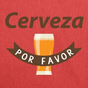 Cerveza Por Favor! - Shoulder Bag made from recycled material