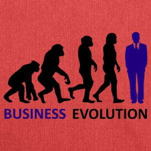 ++ ++ Business Evolution - Axelväska av återvinningsmaterial