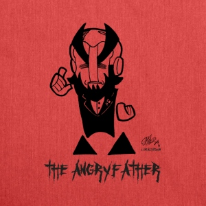 THE ANGRYFATHER - Borsa in materiale riciclato
