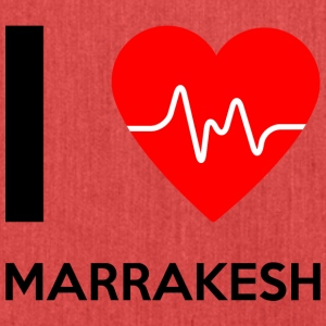 I Love Marrakesh - I Love Marrakesh - Skuldertaske af recycling-material
