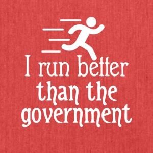I run better - Schultertasche aus Recycling-Material