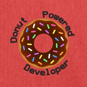 Donut Powered Developer - Bandolera de material reciclado