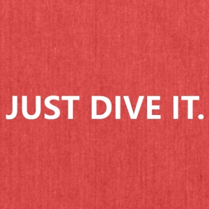 just dive it - Schoudertas van gerecycled materiaal
