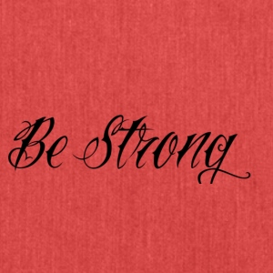 Be_Strong_ - Bandolera de material reciclado
