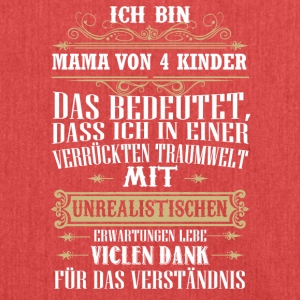 Mama4kinder - Schultertasche aus Recycling-Material