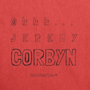 Ohhh Jeremy Corbyn - Shoulder Bag made from recycled material