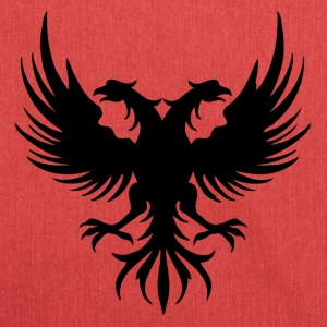 Two eagle Head of the flag of Albania - Shoulder Bag made from recycled material