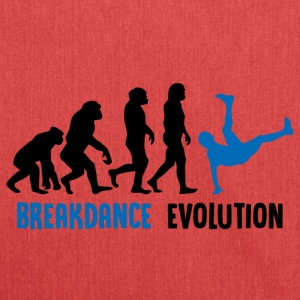 ++Breakdance Evolution++ - Schultertasche aus Recycling-Material