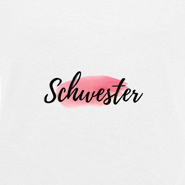 Sister Schwester Logo Rosa