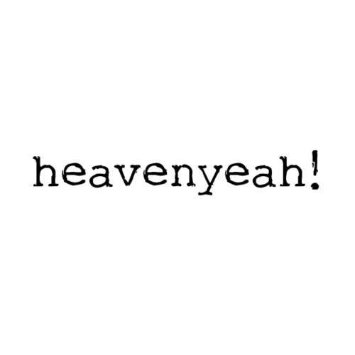 heavenyeah! - Women's T-Shirt with rolled up sleeves