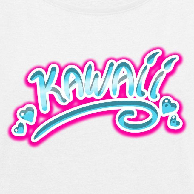 Kawaii Rose et Bleu