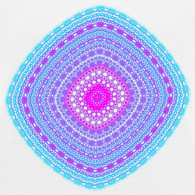 cheerful blue diamond 5400 cool poster