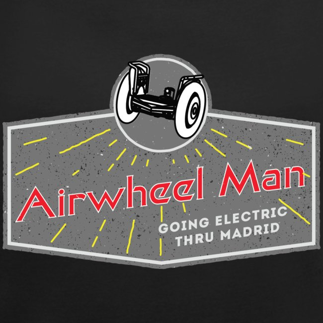 AIRWHEEL MAN - Going Electric Thru Madrid