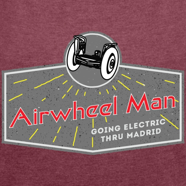 AIRWHEEL MAN - Going Electric Thru Madrid