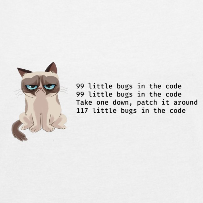 99 litle bugs of code