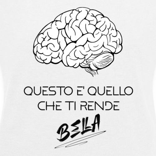 QUESTO TI RENDE BELLA - Maglietta da donna con risvolti