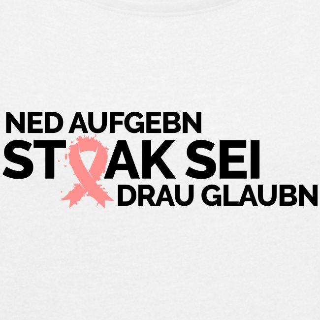 Vorschau: Stoak sei - Frauen T-Shirt mit gerollten Ärmeln