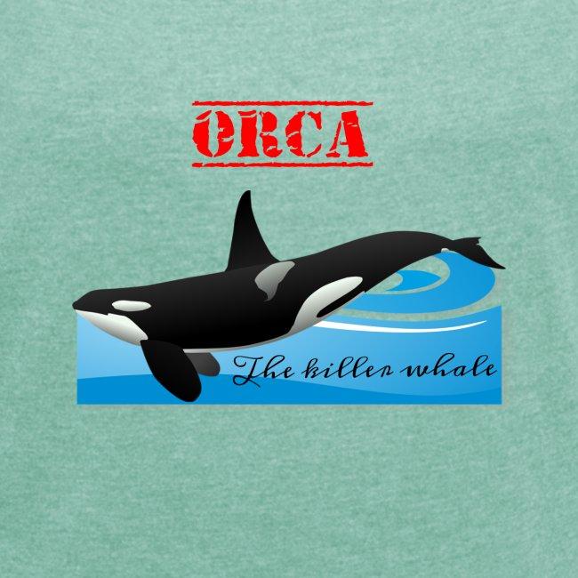 Orca La Balena Assassina Maglietta Uomo Donna 2018