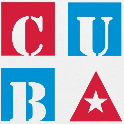 CubaCube - Frauen T-Shirt mit gerollten Ärmeln
