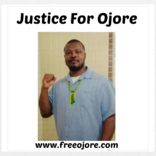 Justice for Ojore - Women's T-Shirt with rolled up sleeves