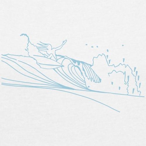 Surfing - T-shirt à manches retroussées Femme
