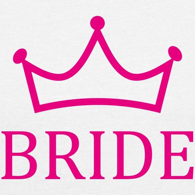Braut Krone Pink Junggesellinenabschied