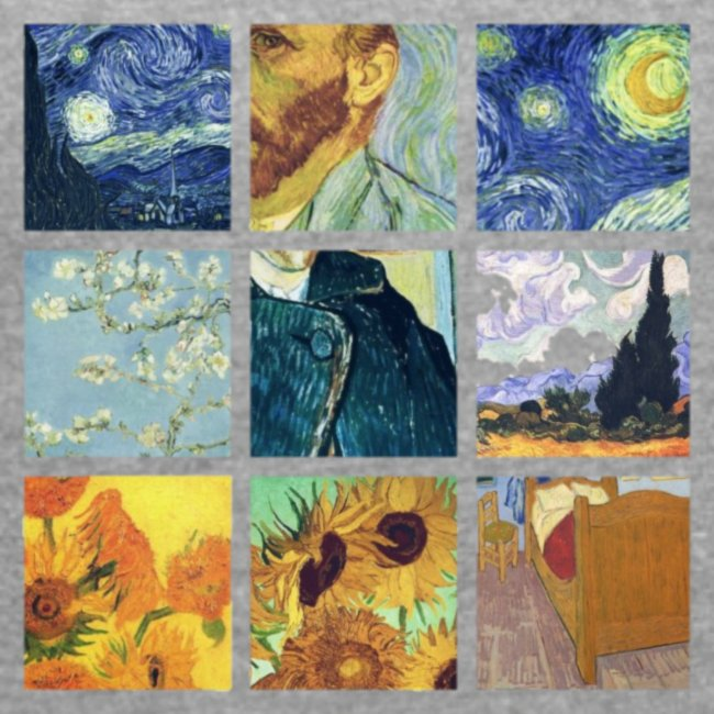 VAN GOGH COLLAGE