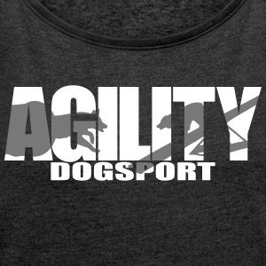 Agility 3 - Women's T-shirt with rolled up sleeves