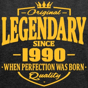 Legendary since 1990 - Women's T-shirt with rolled up sleeves