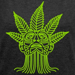Hemp Maya - Women's T-shirt with rolled up sleeves