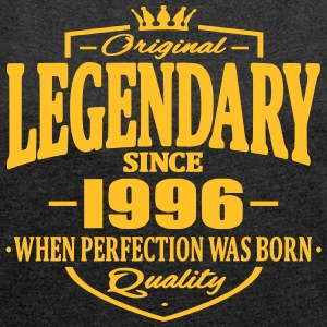 Legendary since 1996 - Women's T-shirt with rolled up sleeves