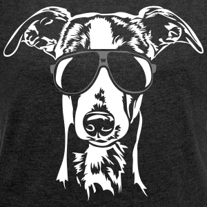 Whippet cool - Women's T-shirt with rolled up sleeves