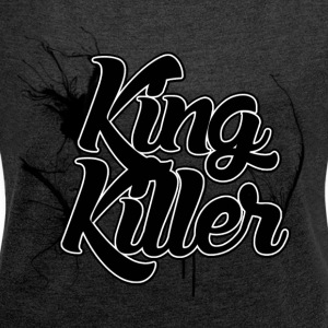 Killer Dead - Women's T-shirt with rolled up sleeves