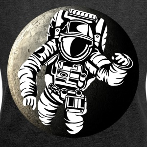 SciFi - Space Adventure - Women's T-shirt with rolled up sleeves