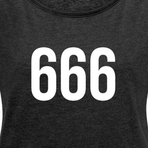 The Devils Favorite Design - Women's T-shirt with rolled up sleeves