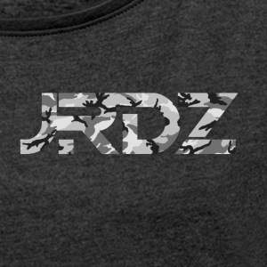 JRDZ Camo - Women's T-shirt with rolled up sleeves