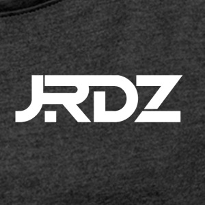 JRDZ Logo - Women's T-shirt with rolled up sleeves