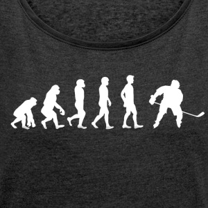 hockey - Women's T-shirt with rolled up sleeves