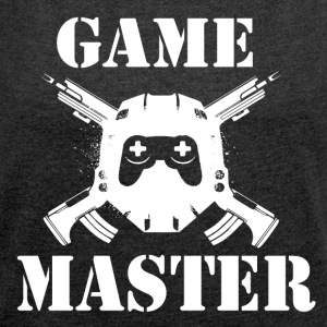 Game Master - Gamer Passion - Women's T-shirt with rolled up sleeves