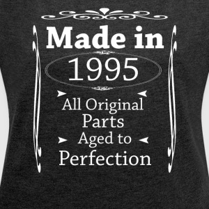 MadeIn1995 - Women's T-shirt with rolled up sleeves