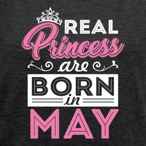 True Princesses May - Women's T-shirt with rolled up sleeves